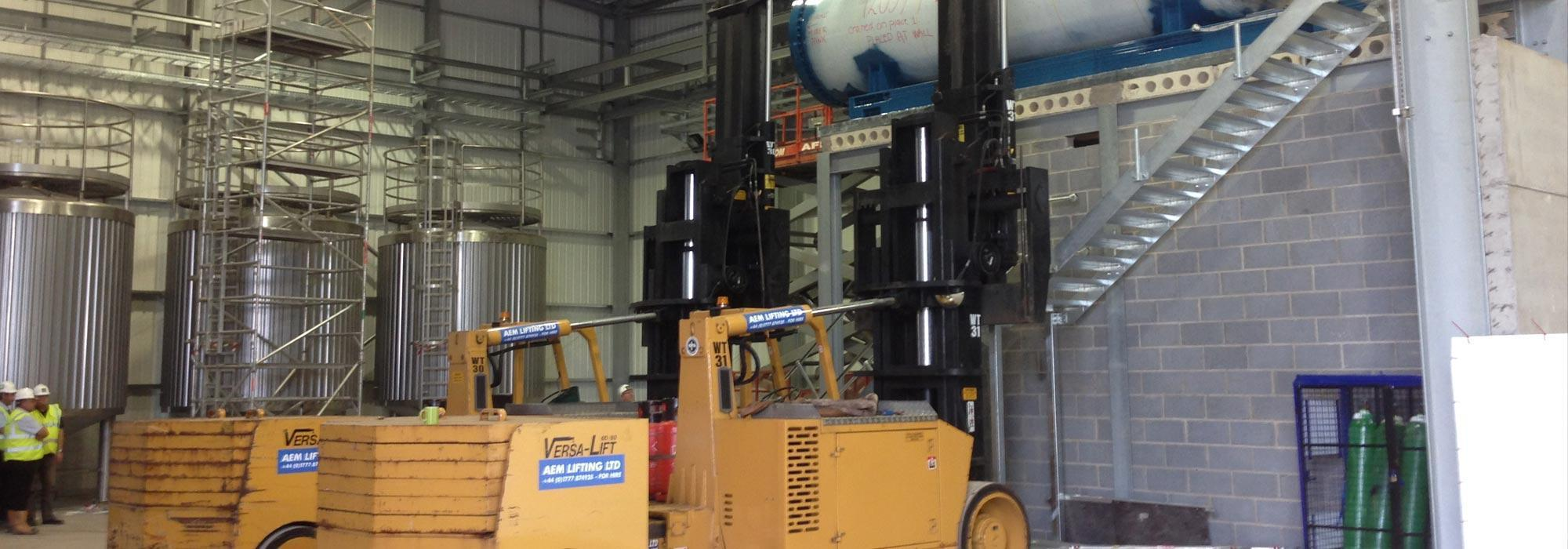 Machinery Removal Amp Installation Machine Moves Hiab