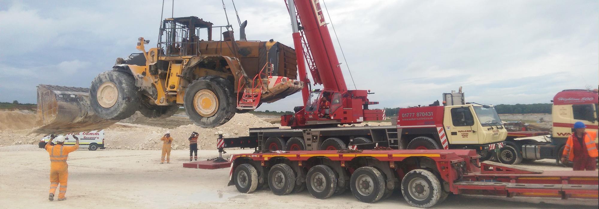 UK & European Haulage, Crane Hire, Machinery Removals