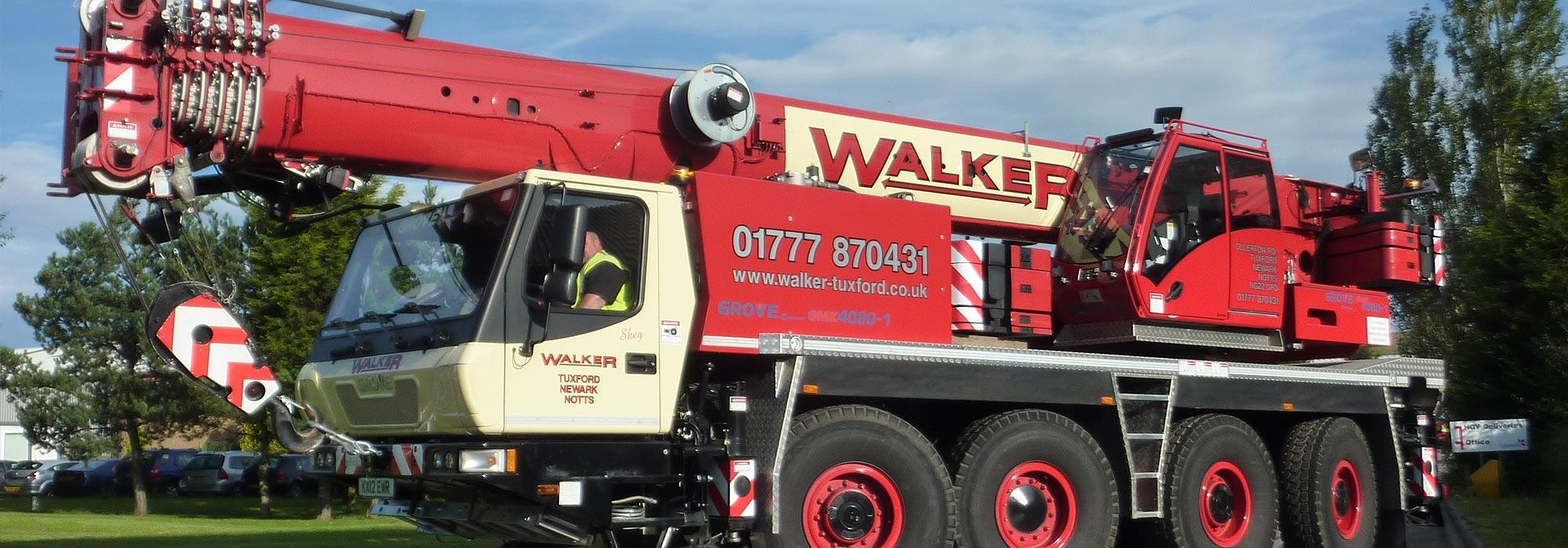 Crane Hire, Nottingham, Sheffield, Lincoln, Leicester, Derby